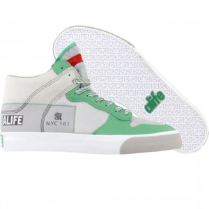 ALIFE Everybody High America - Leather (green)