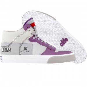 ALIFE Everybody High America - Leather (purple)