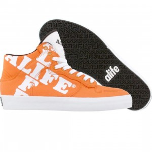ALIFE Women Everybody High Cross - Canvas (orange)