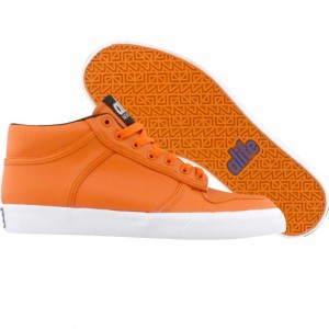 ALIFE Women Everybody Mid Pro - Leather (orange)