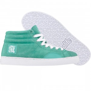 ALIFE Shell Toe - Suede (green)