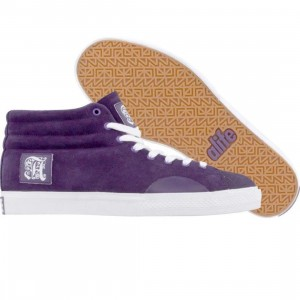 ALIFE Women Shell Toe - Suede (purple)