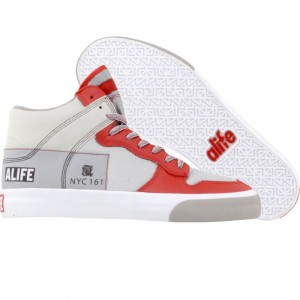 ALIFE Everybody High America - Leather (red)