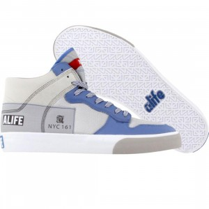 ALIFE Everybody High America - Leather (blue)