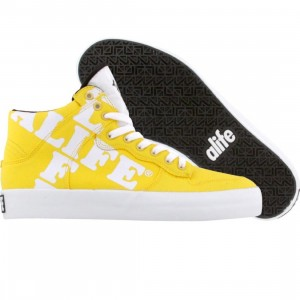 ALIFE Women Everybody High Cross - Canvas (yellow)