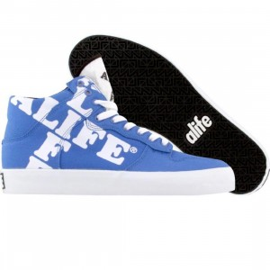 ALIFE Women Everybody High Cross - Canvas (blue)