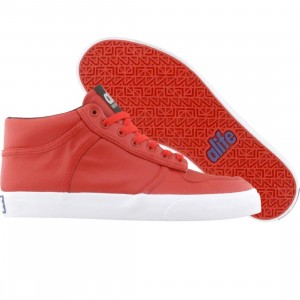 ALIFE Women Everybody Mid Pro - Leather (red)