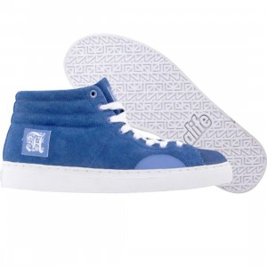 ALIFE Women Shell Toe - Suede (blue)
