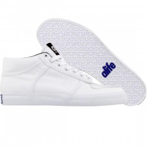 ALIFE Women Everybody Mid Pro - Leather (white / black)
