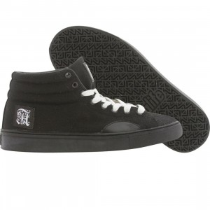 ALIFE Women Shell Toe Canvas (black)