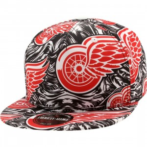 American Needle Detroit Red Wings Inkwell Cap (white)
