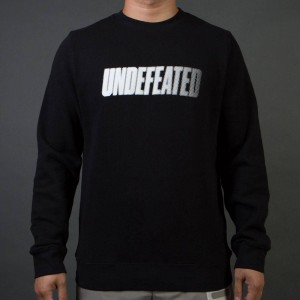 Undefeated Men Speed Tone Crew Sweater (black)