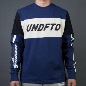 Undefeated Men Racer LS Jersey (blue)