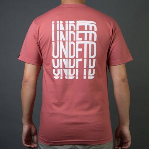 Undefeated Men Hill Bombing Tee (rose)