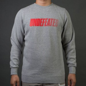 Undefeated Men Speed Tone Crew Sweater (gray / heather)