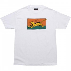 ARSNL Safari Tee (white / yellow)