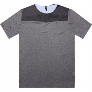 ARSNL Thomas Two Toned Tee (grey speckle)