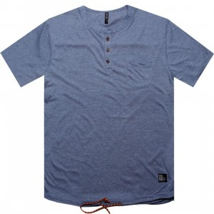 ARSNL Keown Henley Tee (indigo heather)