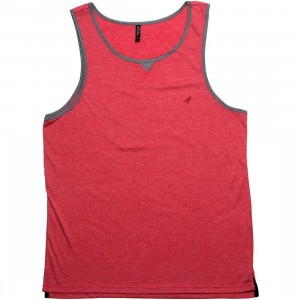 ARSNL Laidback Tank Top (red heather)