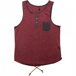 ARSNL Oracle Tank Top (maroon speckle)