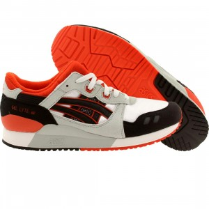 Asics Tiger Big Kids Gel Lyte III GS (white / black)