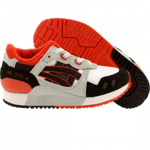 Asics Tiger Little Kids Gel Lyte III PS (white / black)
