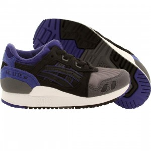 Asics Tiger Little Kids Gel Lyte III PS (black)