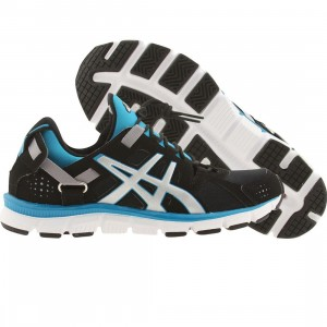 Asics Tiger Women Gel-Synthesis (black / silver / island blue)
