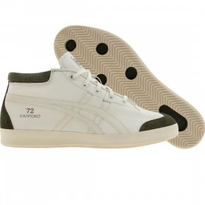 Onitsuka Tiger Sunotore 72 (off white / off white / green)