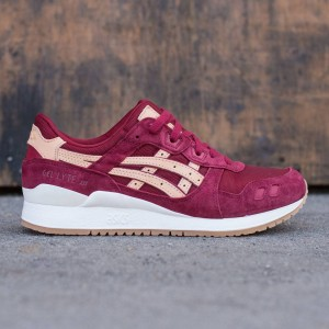 Asics Tiger Men Gel-Lyte III - Veg Tan Pack (burgundy / tan)