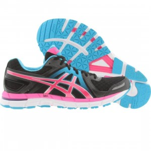 Asics Tiger Womens Gel-Excel 33 2 (black / electric pink / turquoise)