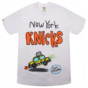 After School Special x NBA Men Knicks Doodle Tee (white)