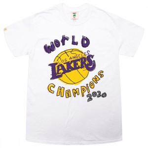 After School Special x NBA Men Lakers World Champs Tee (white)