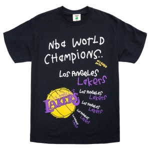 After School Special x NBA Men Lakers Championship Tee (black)