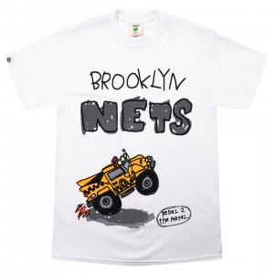 After School Special x NBA Men Nets Doodle Tee (white)