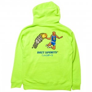 BAIT Men 8 BIT Basketball Hoody (green / safety)