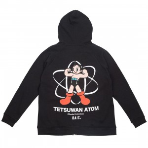 BAIT x Astro Boy Men Tetsuwan Atom Zip Hoody (black)