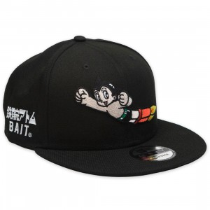 BAIT x Astro Boy x New Era Launch Snapback Cap (black)