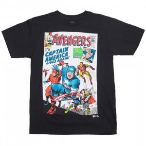 BAIT x Marvel Men Avengers Live Again Tee (black)