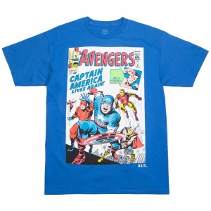 BAIT x Marvel Men Avengers Live Again Tee (blue / royal blue)