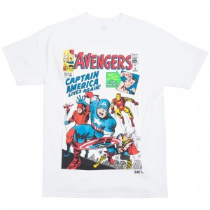 BAIT x Marvel Men Avengers Live Again Tee (white)