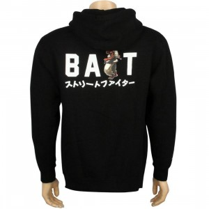 BAIT x Street Fighter Artist Series Ryu Hoody (black / white)