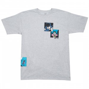 BAIT x Batman Men Fight Scenes Tee (gray / heather)
