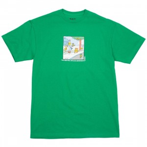 BAIT x Heathcliff Men It's A Beautiful Day Tee (green)