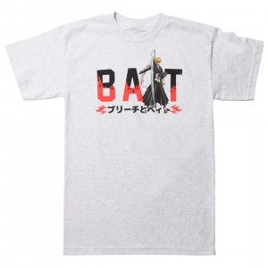 BAIT x Bleach Men BAIT Logo Tee (gray / ash)