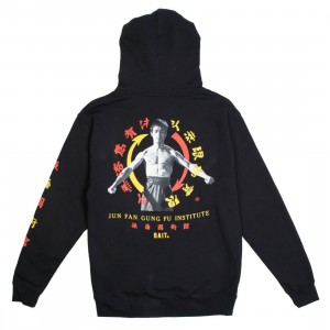 BAIT x Bruce Lee Men Jun Fan Gung Fu Institute Hoody (black)