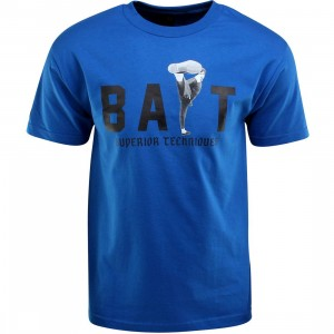 BAIT x Bruce Lee High Kick Tee (blue / royal blue / black)