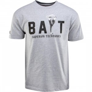 BAIT x Bruce Lee High Kick Tee (gray / heather gray / black) - BAIT SDCC Exclusive