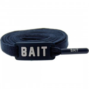 BAIT Flat Shoelaces (blue)