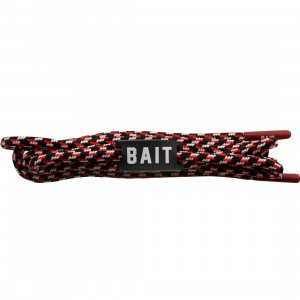 BAIT Nippon Blue Premium Rope Shoelaces (navy / red / white)